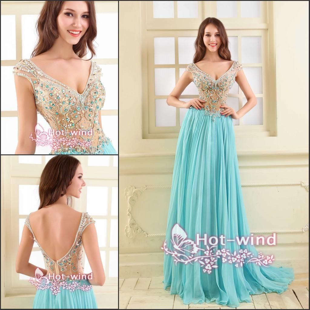 2015-vintage-long-prom-dresses-light-sky.jpg (1024×1024) | prom ...