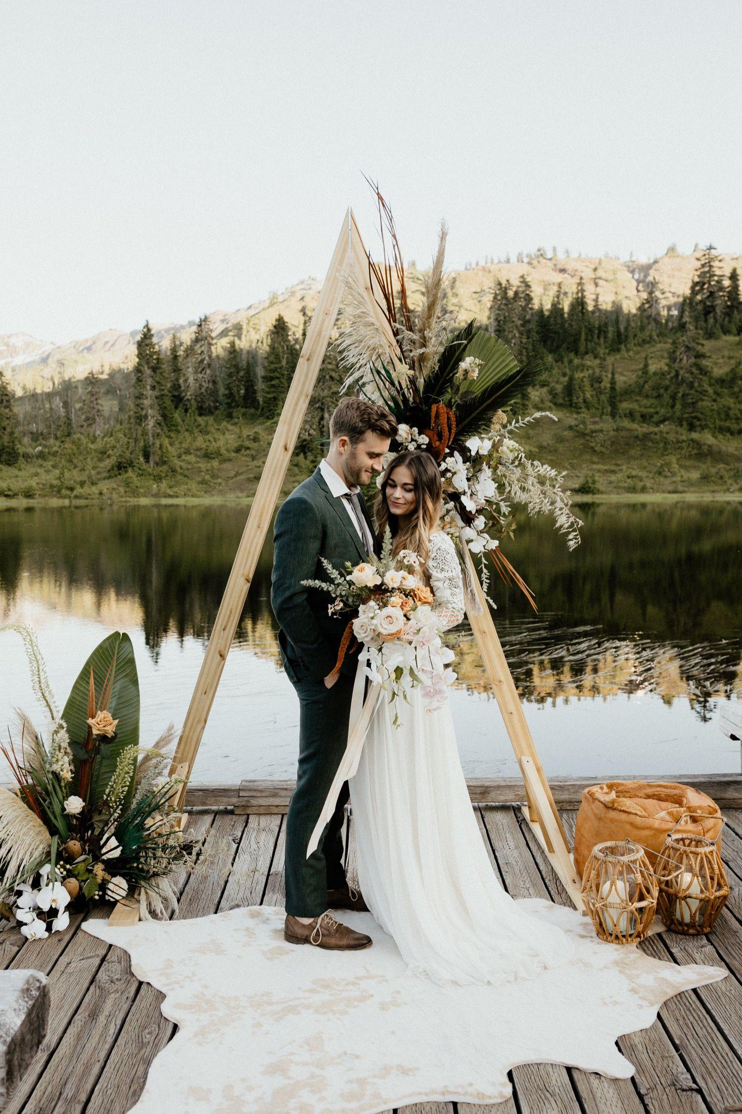 Olympic National Park Wedding National park wedding