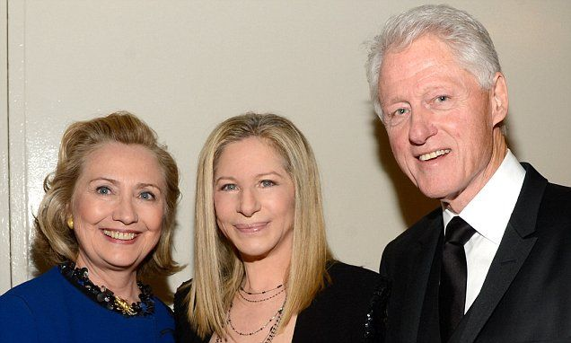 Spielberg, Clooney and Hanks back Hillary to become U.S. president #DailyMail