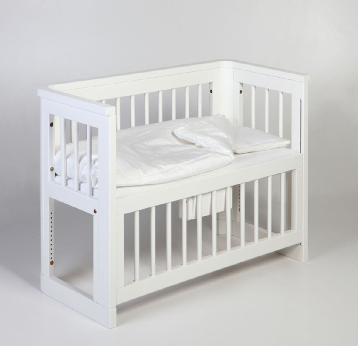 Baby crib for sale tulsa - Baby Bedside The Troll Sun Bedside Bassinet White The Safe Way To Sleep Close To