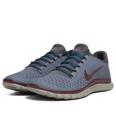 separation shoes 207ec 450b7 Nike x Undercover GYAKUSOU Free 3.0 V4 (Blue Dusk, Deep Burgundy   Dark  Grey)