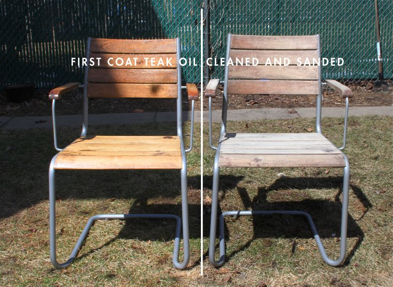 Attirant Weathered Ikea Acacia Wood Furniture Before And After Teak Oil Ikea Outdoor,  Outdoor Ideas,
