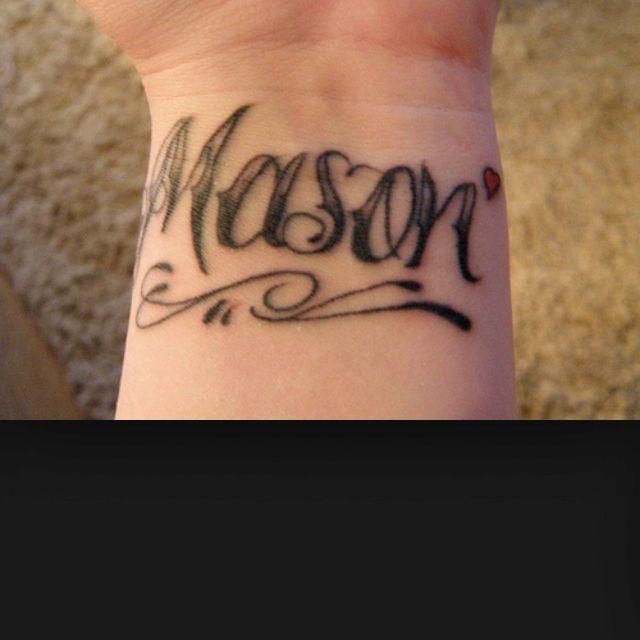 For My Baby Boy Mason Cool Wrist Tattoos Wrist Tattoos For Women Tattoos For Women