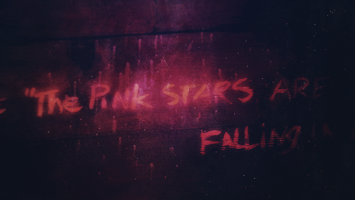 PInk stars are falling #underthedome