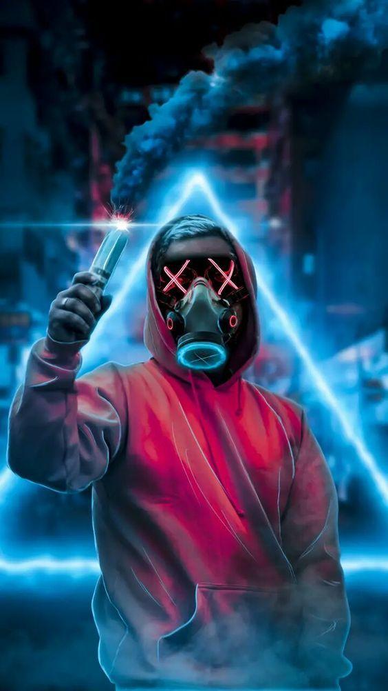 Masque Lumineux La Purge, Masque LED American Nightmare