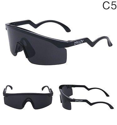 9140 Sunglasses C5 Blades Men's Oakley Sports Black Vintage Razor vwmn80N