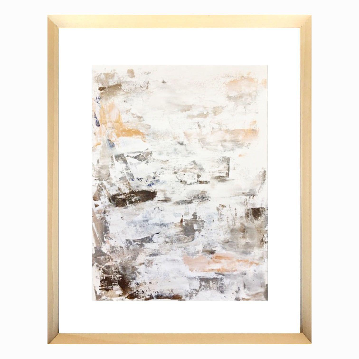 Parrish Hoag Art  Acrylic Painting On Canvas Panel Framed