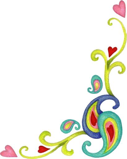 Bordes para tarjetas de flores-Imagenes y dibujos para imprimir ...