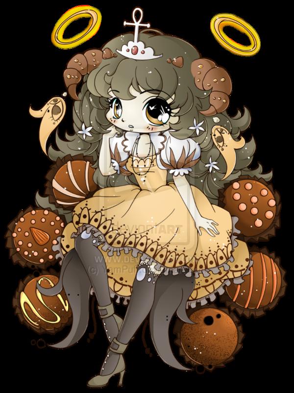 Truffle Girl Hazukia - Commission by YamPuff on deviantART
