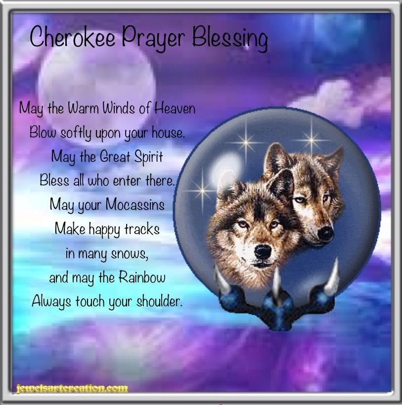 Cherokee Blessing | Jewels Art Creation