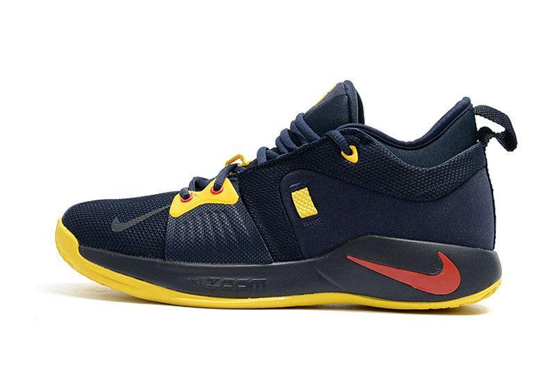 huge selection of 6cf24 7c3b9 Nike Paul George 2 Boots Zoom PG 2 Mens Basketball Sneakers ...