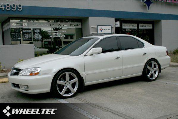 Custom Acura With Wheels Tl S 2002 Acura Tl Tsw Rivage Love