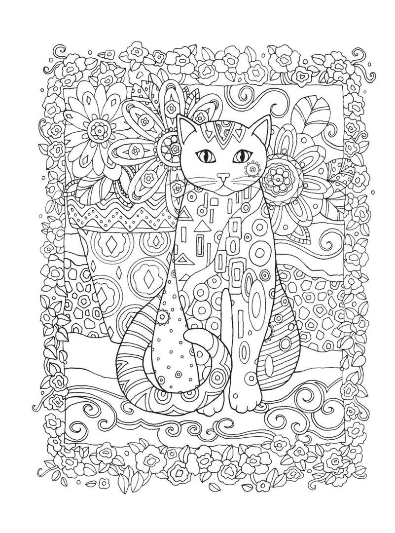 Ausmalbilder Erwachsene Katzen : Ausmalbilder Katzen Kostenlose Malvorlagen Zum Ausdrucken Dekoking