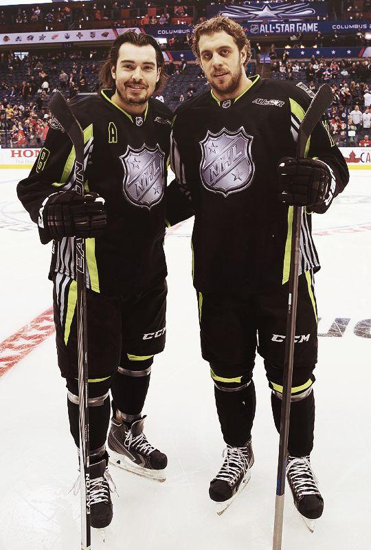 Doughty And Kopitar All Star Game Hockey All Stars La Kings