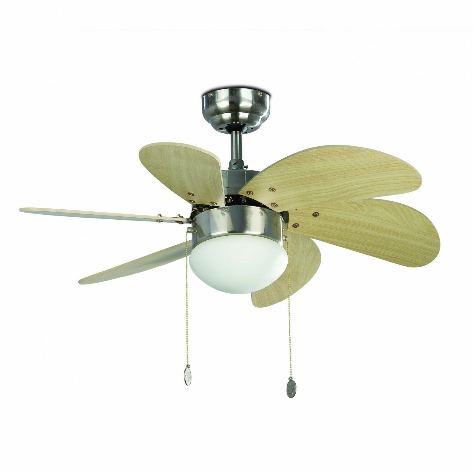 Faro ceiling fan palao nickel matt 76 cm 30 with lighting ceiling faro ceiling fan palao nickel matt 76 cm 30 with lighting ceiling fans for aloadofball Choice Image