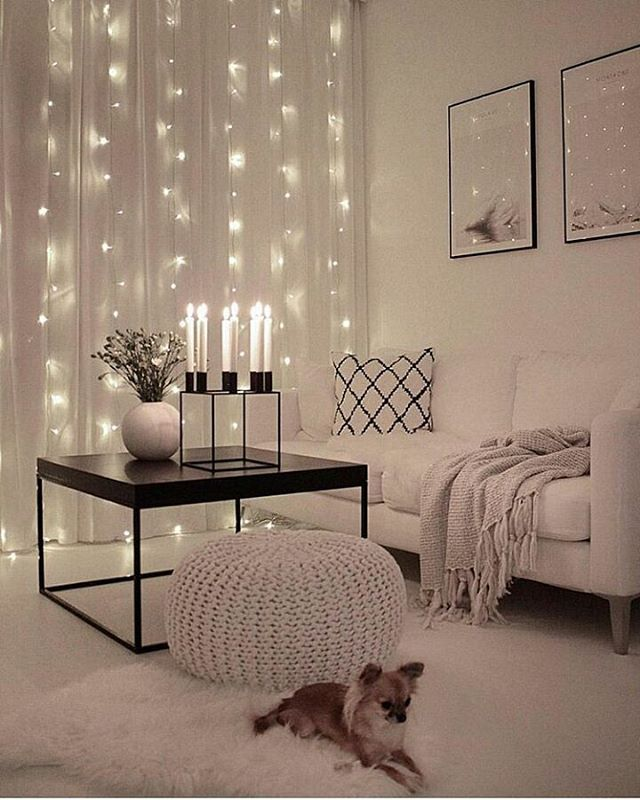 Wonderful The Lights Behind The Sheer Curtains Are Sweet. #curtains #sheers | Single  Lady Apartment Inspo | Pinterest | Home Decor, Room Decor And U2026
