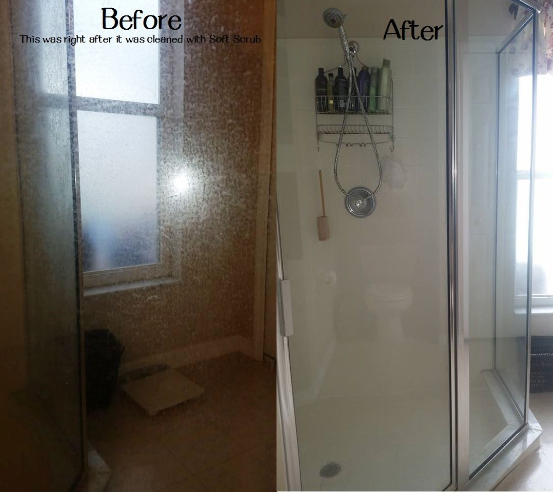 The Best Way To Remove Soap Scum Hard Water Stains And