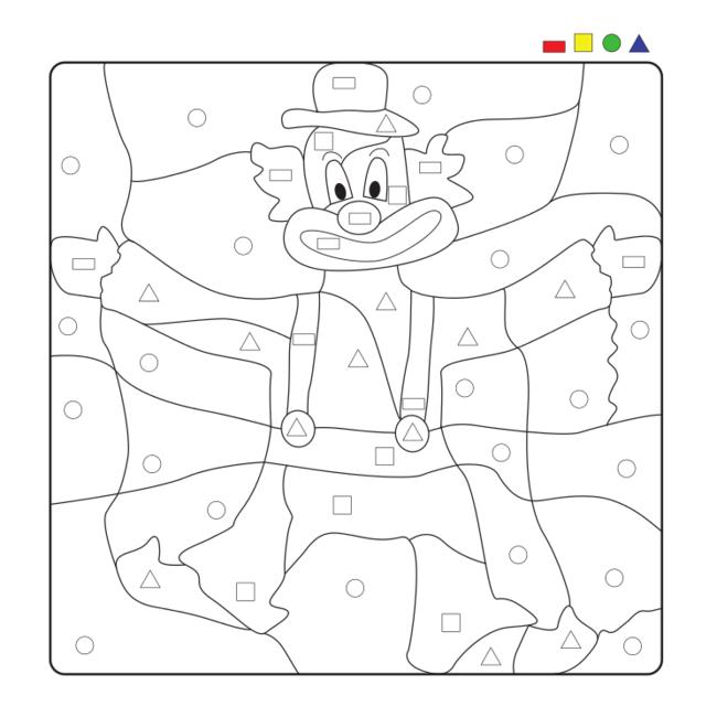 clown symbolspiel kindergartenkram pinterest fasching zirkus und arbeitsbl tter. Black Bedroom Furniture Sets. Home Design Ideas
