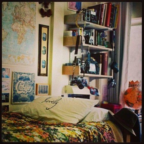 Resultado de imagen para habitacion hipster tumblr for Cuarto estilo tumblr