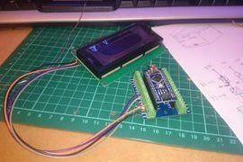 picture of create design and wiring diagram lcd monitor, arduino, landline  phone, mp3