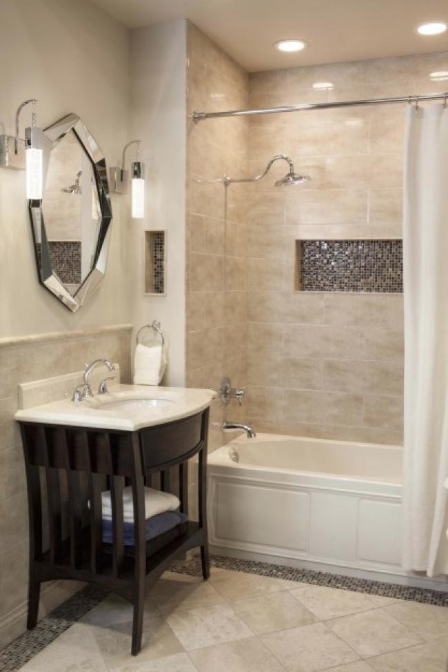 70 Wonderful Bathroom Tiles Ideas For Small Bathrooms  Tile Amazing Wonderful Bathroom Designs Decorating Design