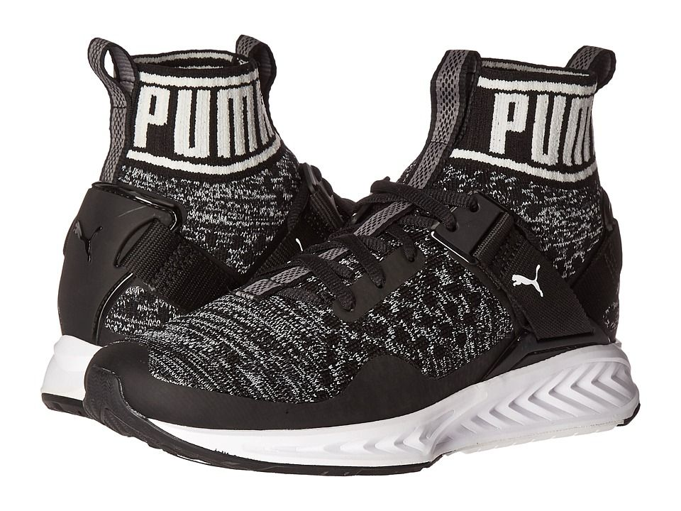 ff810a87852 PUMA PUMA - IGNITE EVOKNIT (PUMA BLACK QUIET SHADE PUMA WHITE) WOMEN S RUNNING  SHOES.  puma  shoes
