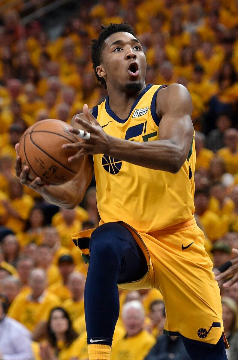 "5fc6c596d1b Donovan Mitchell • ""Take Note"" Basketball Playoffs"