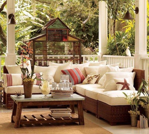 muebles para terrazas | jardin | Pinterest | Terrazas, Muebles de ...
