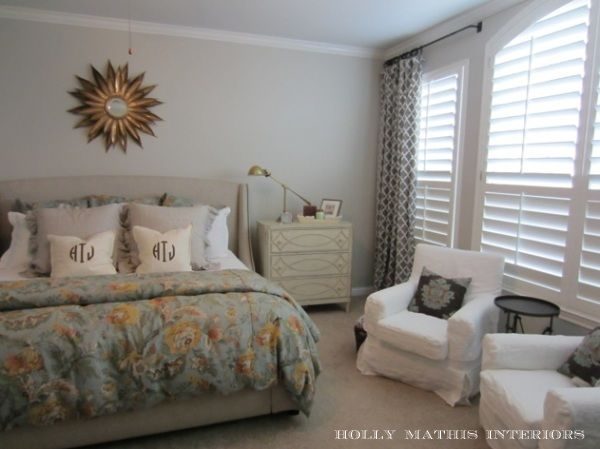 agreeable grey and white baby room ideas. after by Holly Mathis wall Paint color  agreeable gray Sherwin Williams Master bedroom re do I like the PB teen panels and Ikea chairs