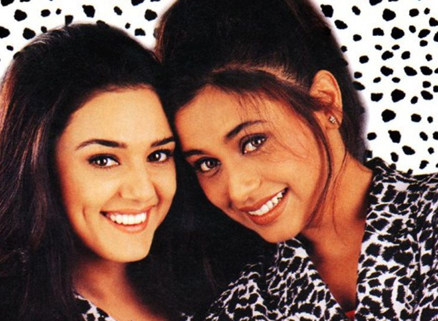 Rani Mukerji And Preity Zinta Are Revisiting The Good Old Days Together And How The Mirch Masala Rani Mukerji Preity Zinta Celebrity Families