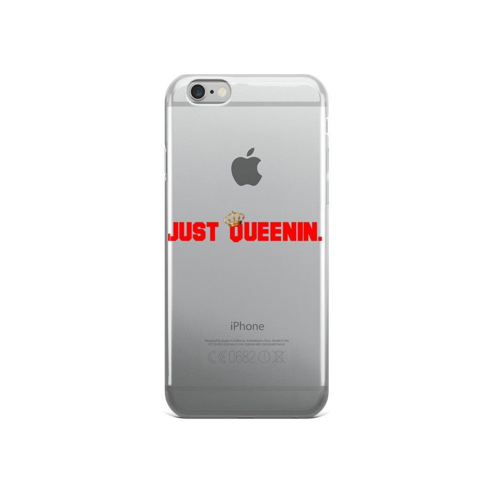 Just Queenin iPhone case
