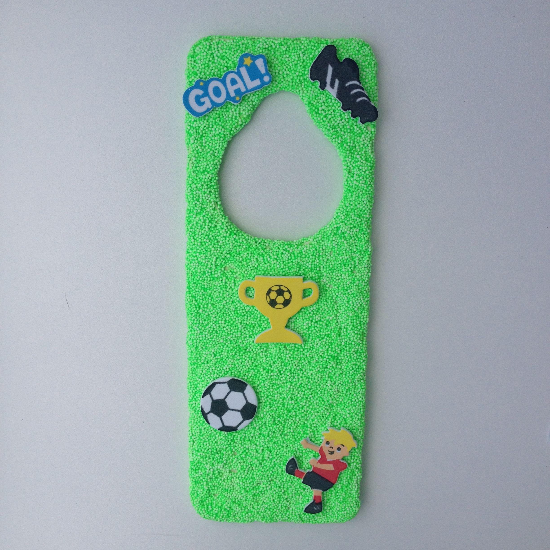 Foamclay deurhanger voetbal