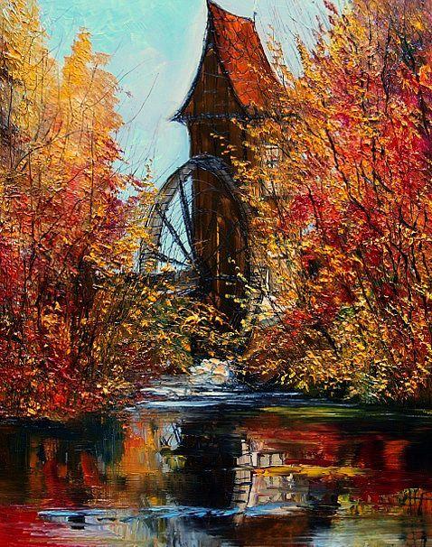 Water Wheel...