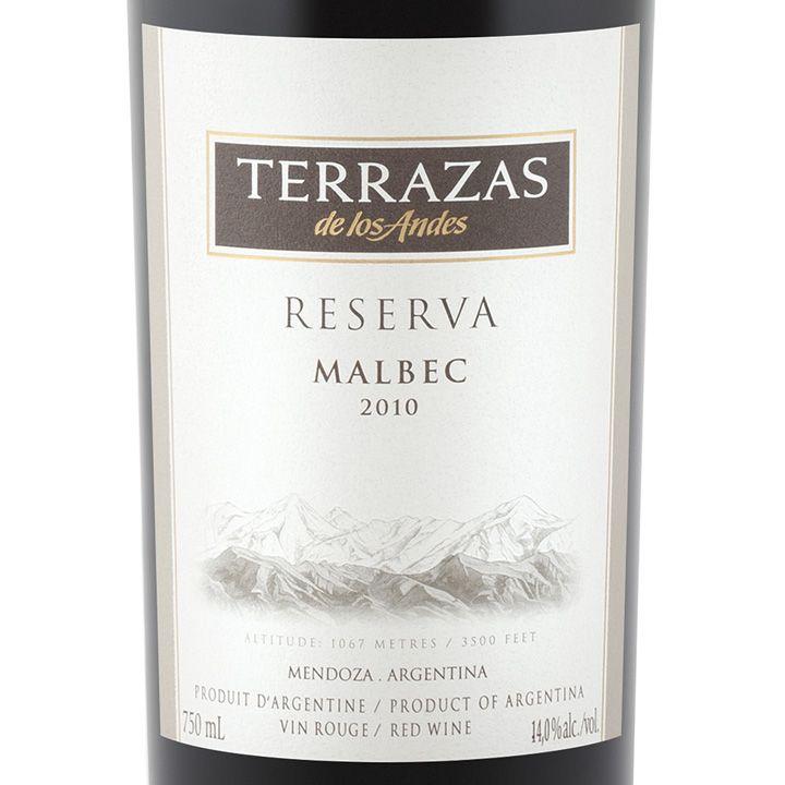 Terrazas De Los Andes Malbec 2010 Wine I D Buy Again