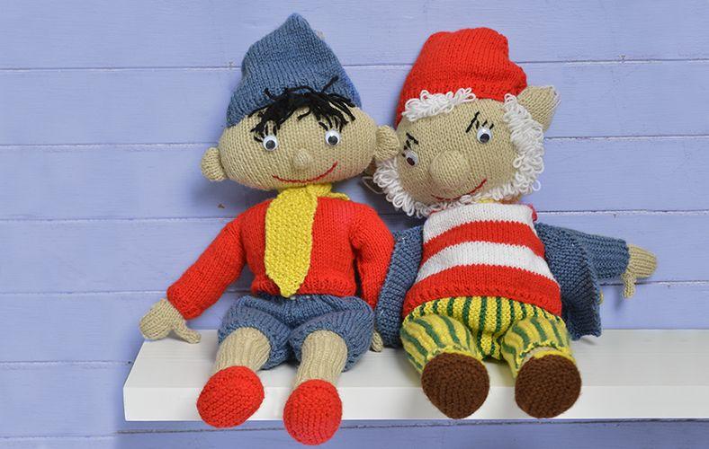 Noddy Knitting Pattern Knit And Crochet Toys Pinterest