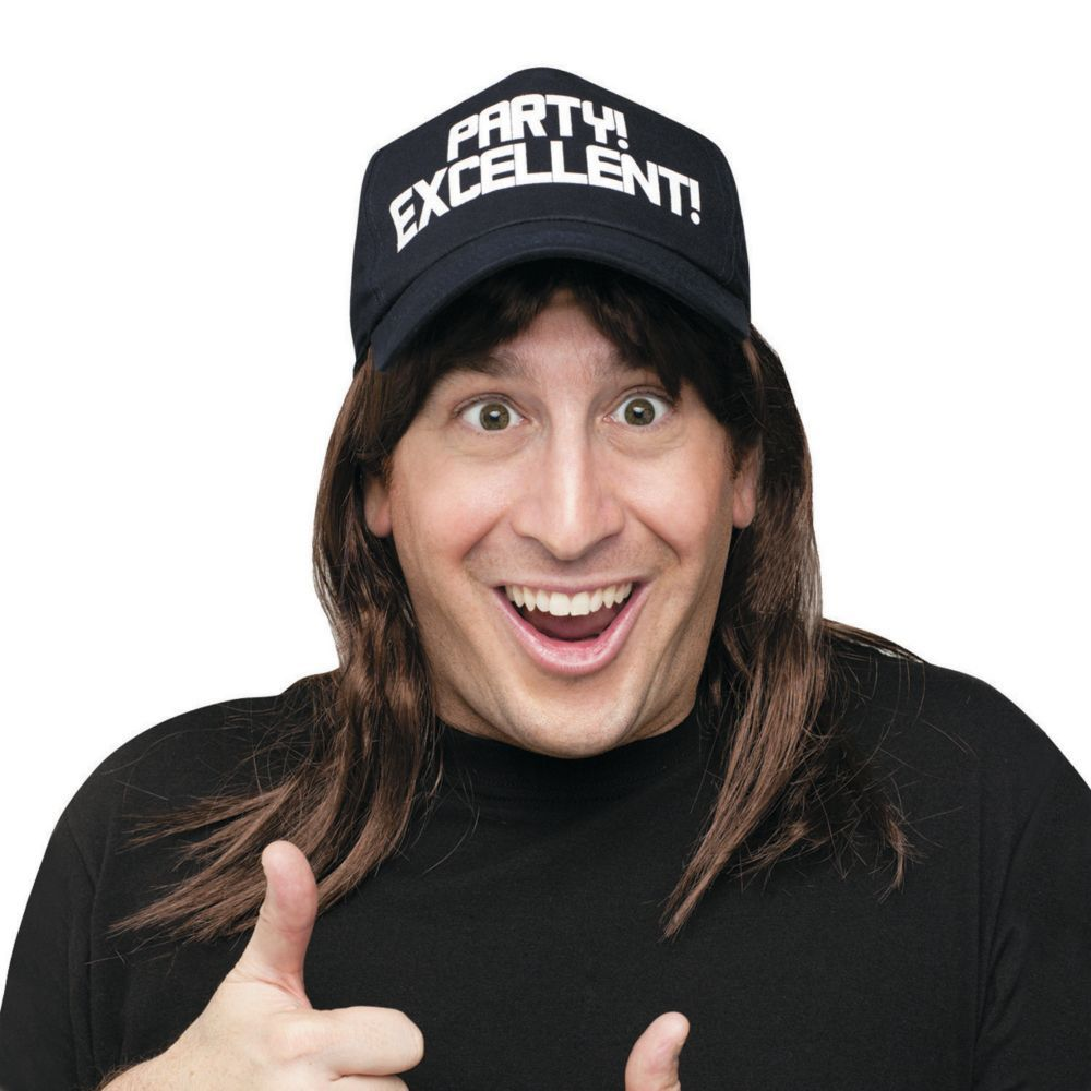 Saturday Night Live Wayne Excellent with Hat