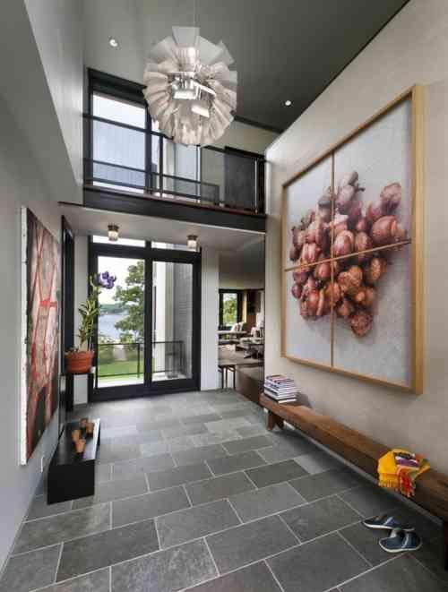 Aménagement entrée: 31 magnifiques exemples | Entrée de maison ...