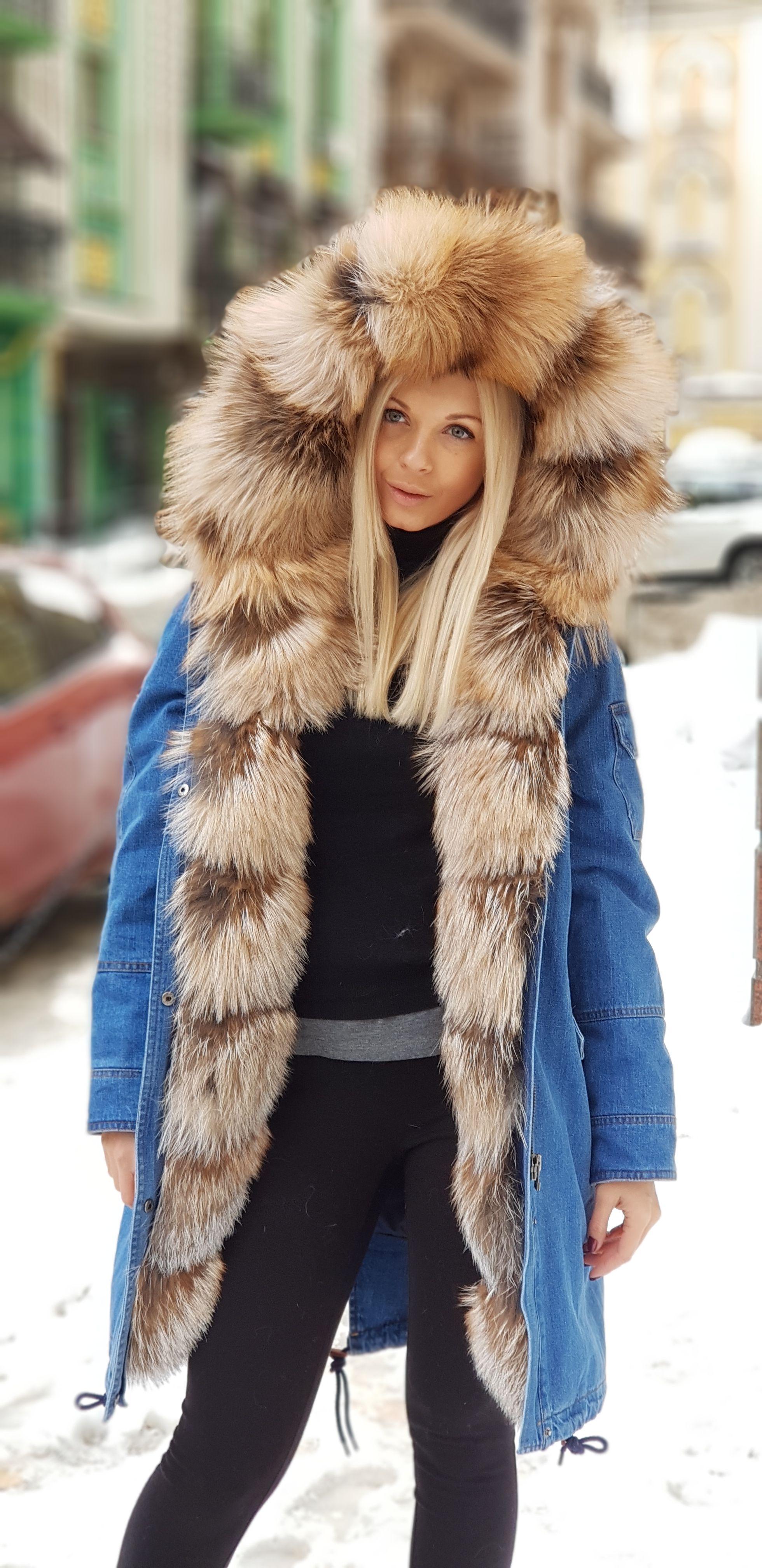 Veste femme style parka