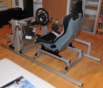 Racing Simulator Frame Games Pinterest Tech