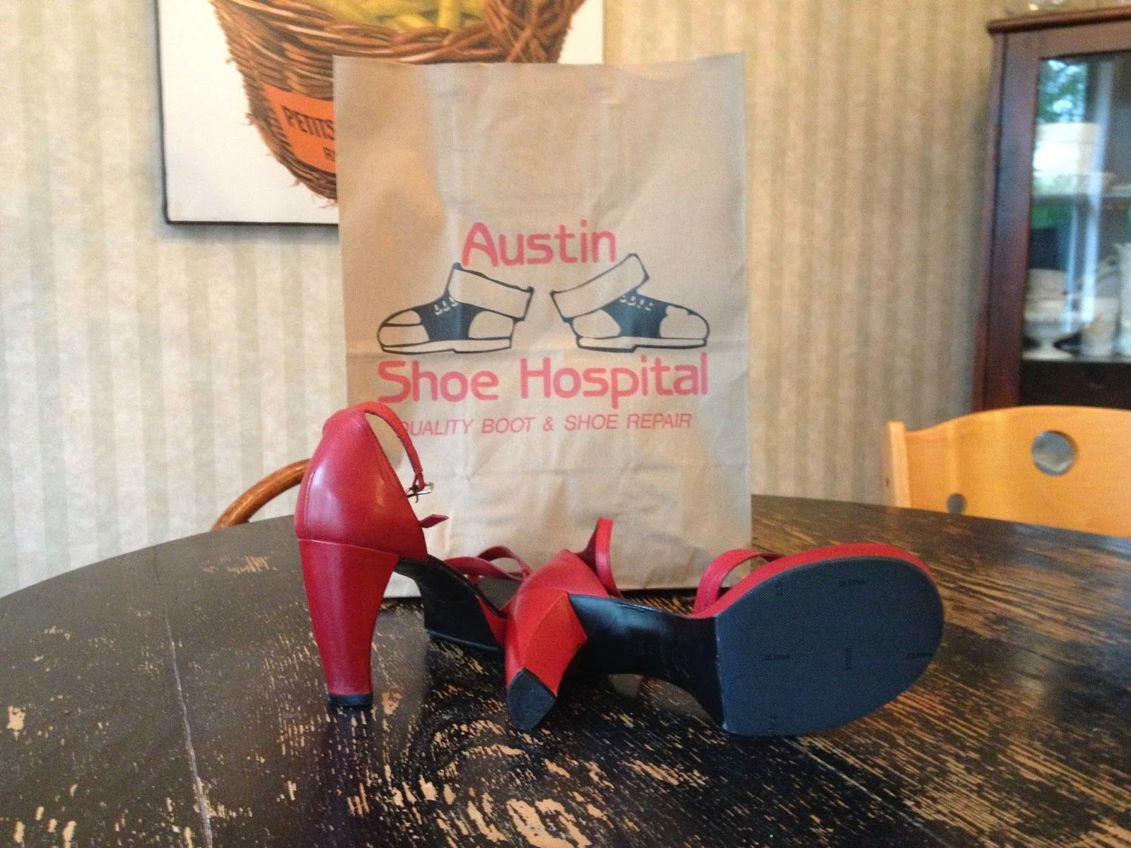 The Accidental Hipster : Austin Shoe Hospital: Just another perk of living ...
