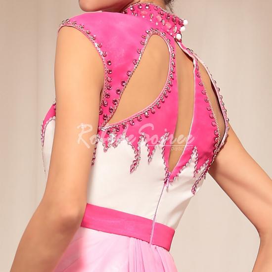 Élégant sac à bandoulière collier rose longue robe de soirée de paragraphe [Doris1305160009] - €123.13 : Robe de Soirée Pas Cher,Robe de Cocktail Pas Cher,Robe de Mariage,Robe de Soirée Cocktail.