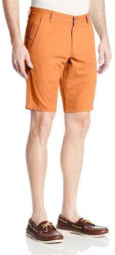 $17, Orange Shorts: Dockers Alpha Short. Sold by Amazon.com. Click for more info: https://lookastic.com/men/shop_items/227874/redirect