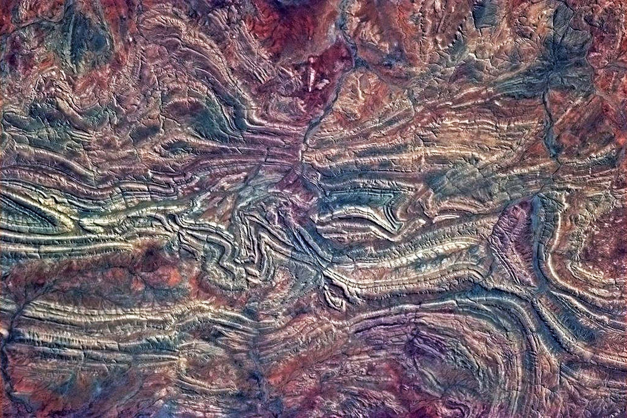 Australian Outback from International Space Station