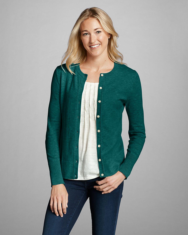 Women's Christine Cardigan Sweater - Solid | Eddie Bauer | Fashion ...