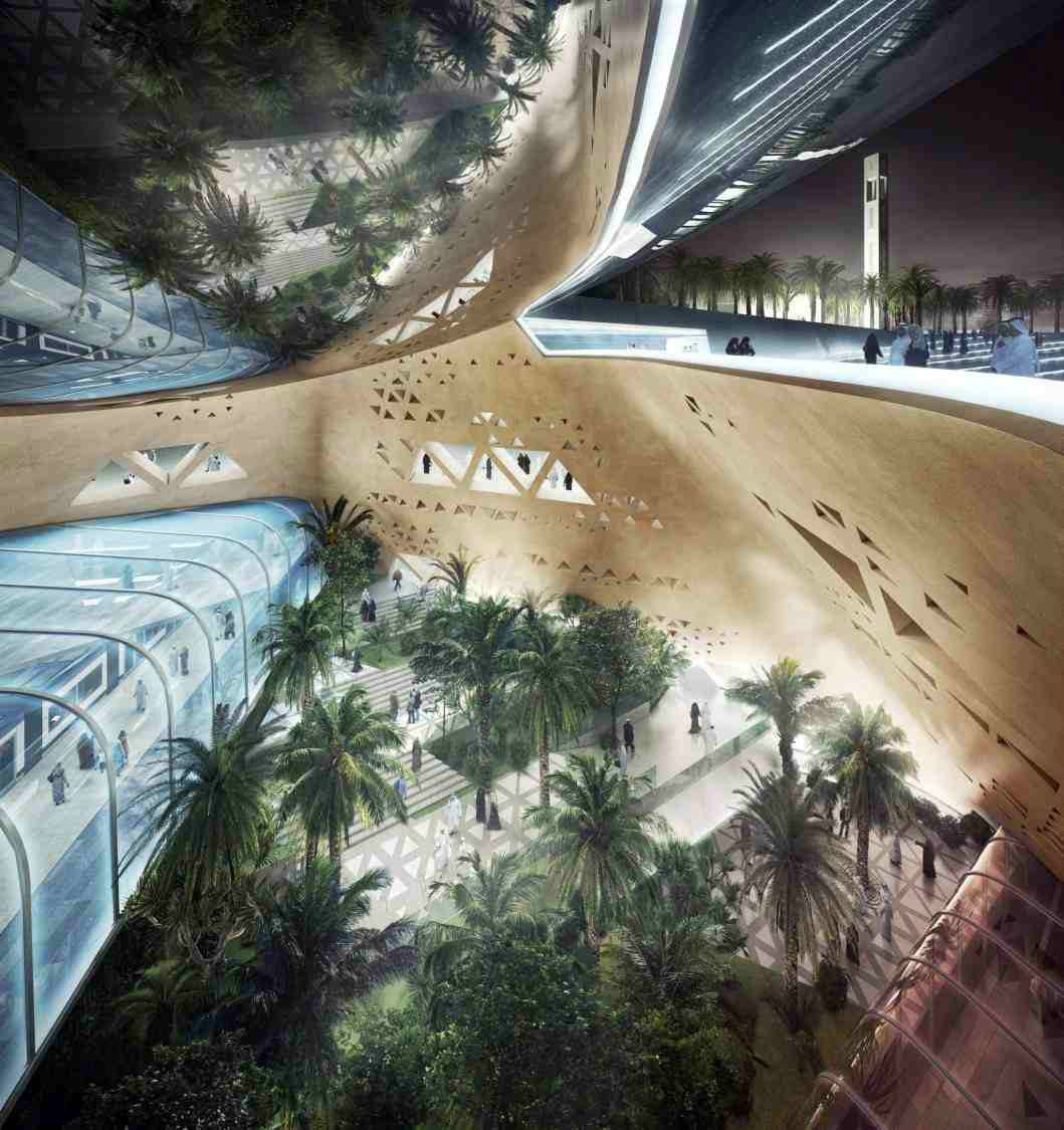 Riyadh Metro Station Snohetta Arch2o Com Metro Station Futuristic Architecture Architecture