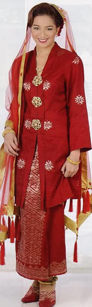 Malaysian Traditional Dress Songket Kebayaaaaaa