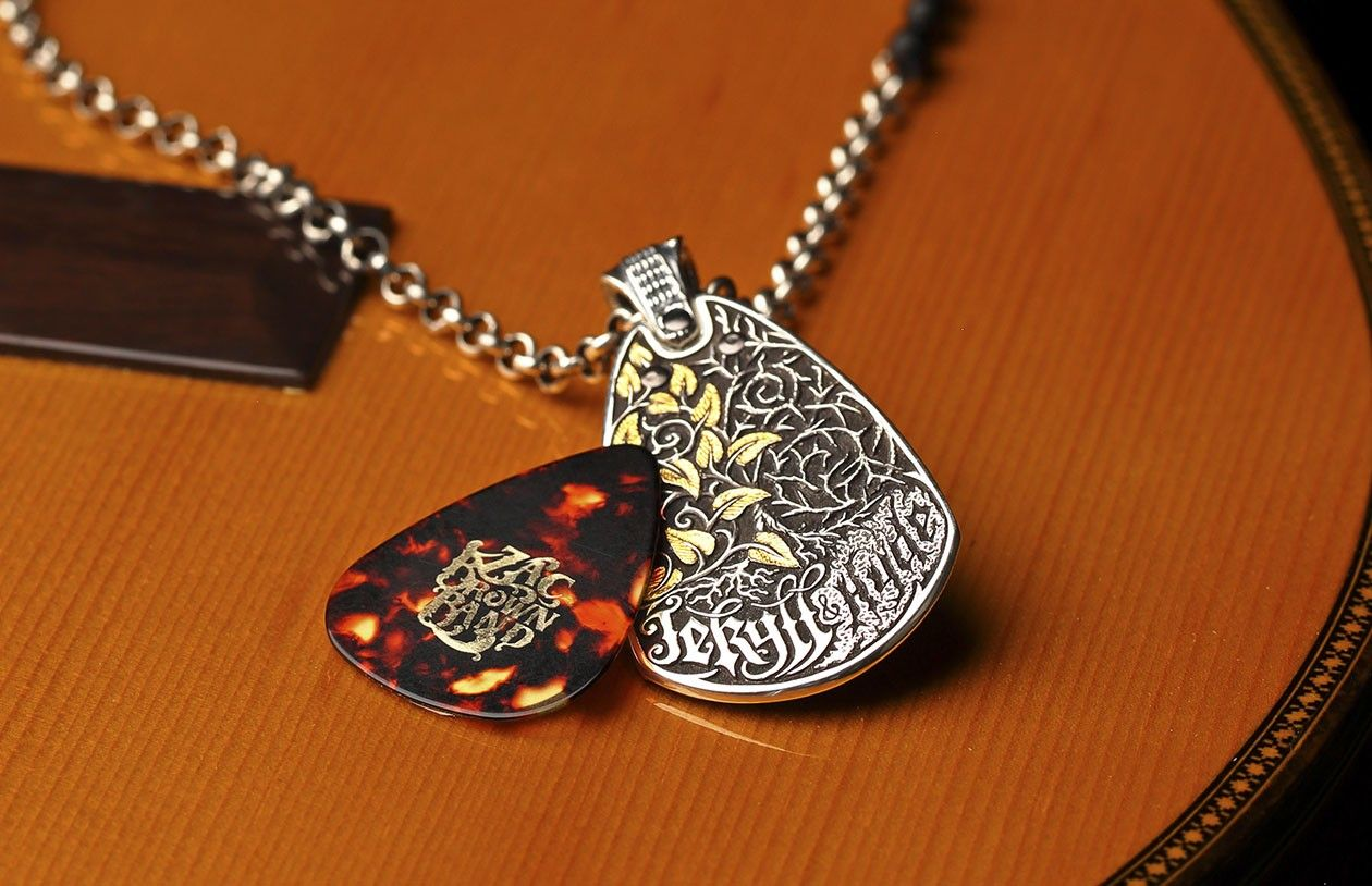 The willamhenry jekyllhyde limited edition guitar pick is guitar picks mozeypictures Choice Image
