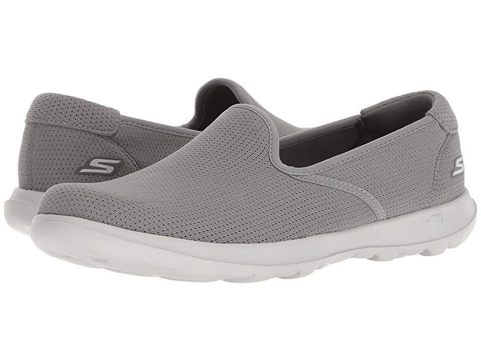 Skechers Performance Go Walk Lite Heavenly Grey Women S Shoes