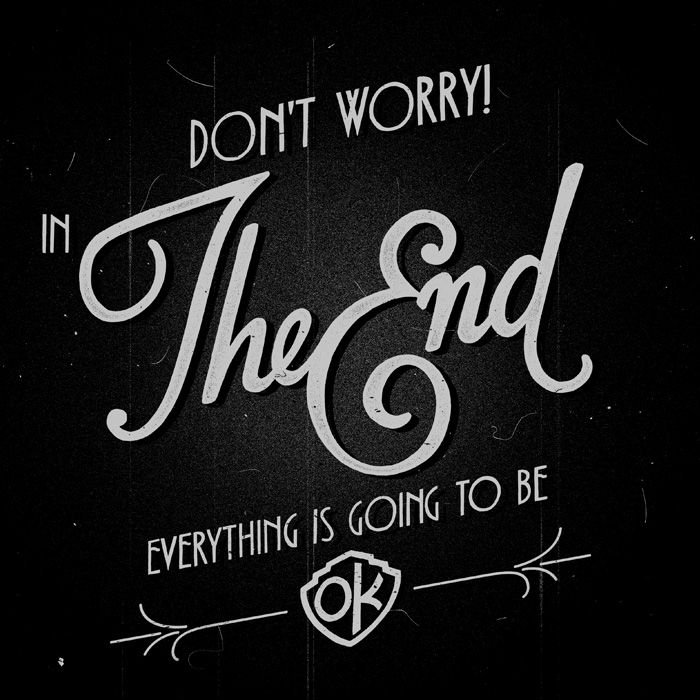 The End By Mathiole Bendy And The Ink Machine Poster Design Words