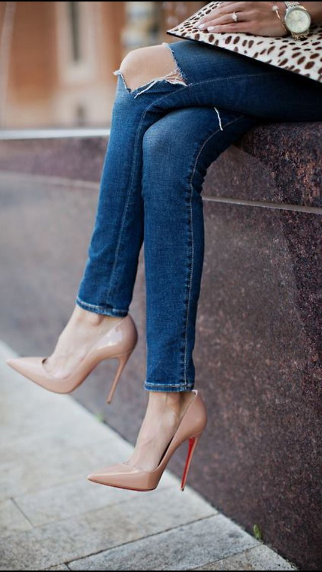 chaussure femme style louboutin